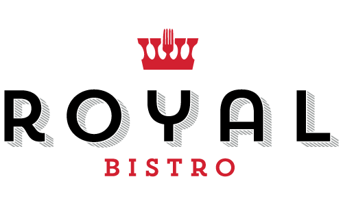 Royal Bistro Logo design by Brandnetic Studios